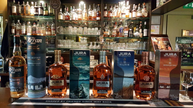Blackfriars Whisky Academy - Dégustation Jura & Arran